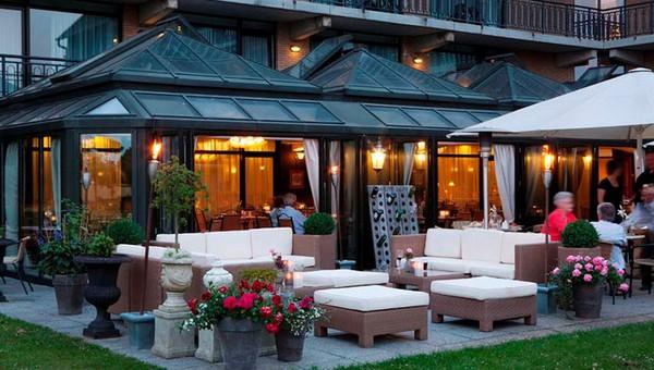 Wintergarten Van Der Valk Hotel Berlin Brandenburg